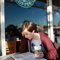 The hot latté is the perfect choice to help students stay energized and focused while studying for finals.