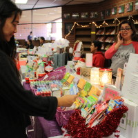 For the first time since she started high school, Senior Alisha Leong went to the annual Holiday Boutique.